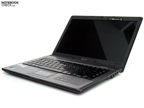 Engsel Laptop Acer Aspire 4810t test acer aspire 4810t notebook notebookcheck tests