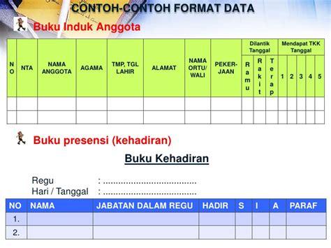 Contoh Notula Rapat Mingguan by Materi Pelatihan Administrasi Pramuka 2012