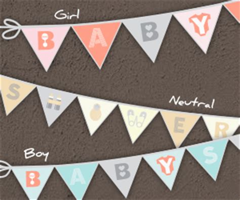 free baby shower banners free printable baby shower banner jinxy