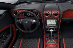 Bentley Gt Interior Bentley Continental Gt Black Speed Revealed