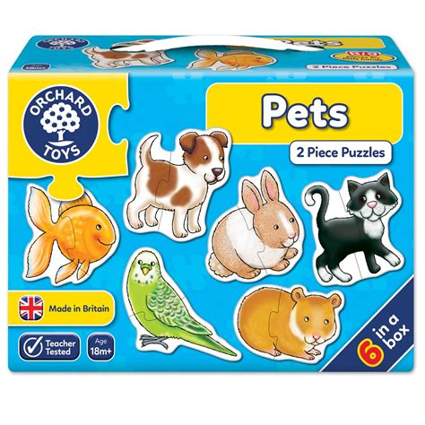 Puzzle Chungky Pet pets jigsaw puzzle