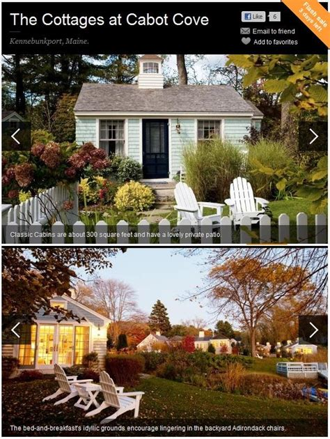 Cabot Cove Cottages Kennebunkport Maine by 17 Best Images About Inns And Such On Farms