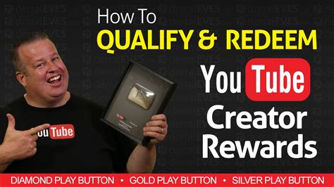 youtube gives new diamond play button to channels with 10 how to redeem youtube creator rewards silver gold