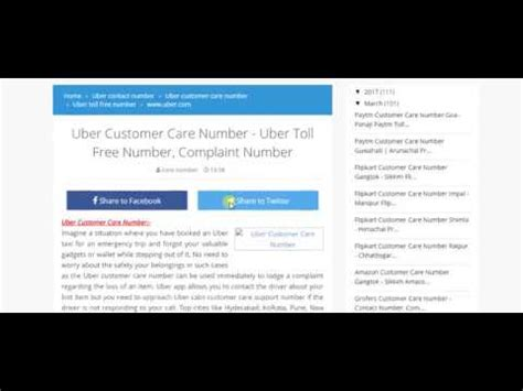 Uber Toll Free Number Uber Com Customer Support Contact