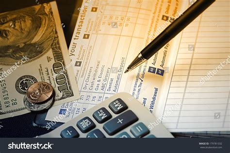 How To Check Your Personal Record Check Register Check Register Your Personal Stock Photo 179781332