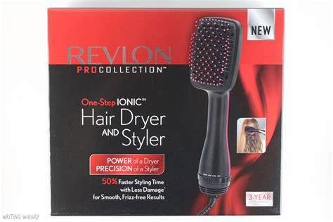 Revlon One Step Hair Dryer And Styler Brush by Revlon Pro Collection One Step Ionic Hair Dryer And Styler