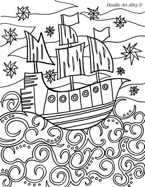 doodle alley doodle alley coloring pages az coloring pages
