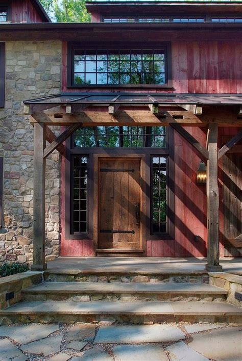 Rustic Wall L by Rustic Barn Homes Exterior Rustic With Large Barn Home L