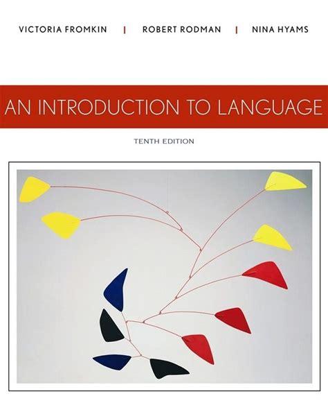 an introduction to language 10th edition pdf ebook books ebooks