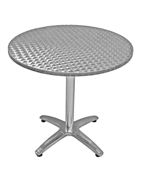 36 Quot Round Table Height Commercial Outdoor Aluminum Table Stainless Steel Patio Table