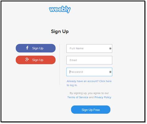 cara membuat website di weebly cara membuat blog di weebly
