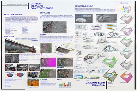 Site Plans For Houses inter city bus terminal lahore architecture student work