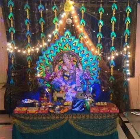 decoration for ganesh festival at home 161 best images about ganpati decoration ideas on pinterest