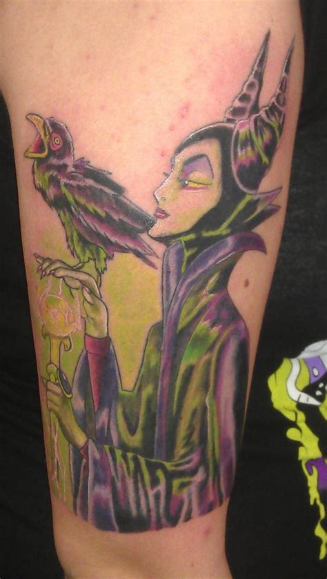 villains tattoo 9 best maleficent ideas images on