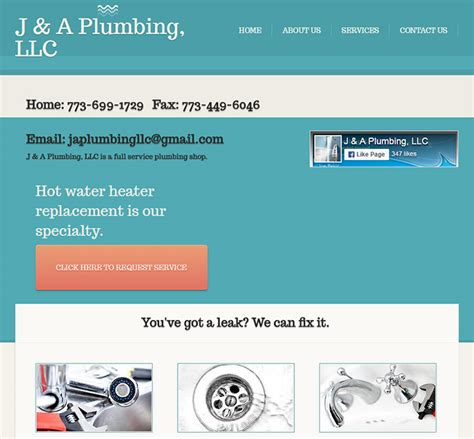 Atlas Plumbing And Rooter by 100 Plumbing Websites For Design Inspiration