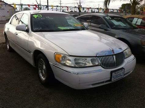 car owners manuals for sale 1998 lincoln town car instrument cluster 1998 lincoln town car for sale carsforsale com