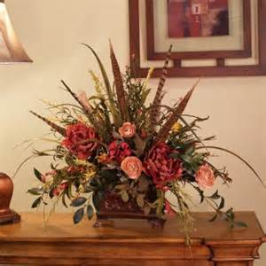 Home Decor Floral Silk Flowers Wildflowers With Pheasant Feathers Ar218 90
