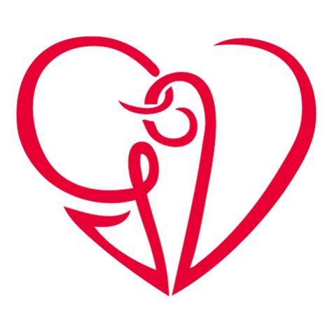 cuore con lettere pin monogramma stilizzato con cuore nel ricciolo della