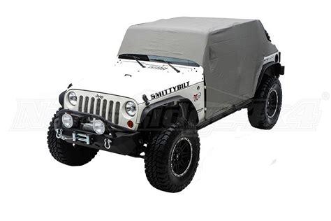 Jeep Jk Cab Cover Jeep Jk Smittybilt Cab Cover Wdoor Flaps Gray Denim Jeep
