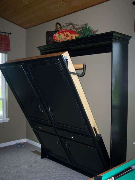 home made murphy bed plans diy murphy beds decorating your small space