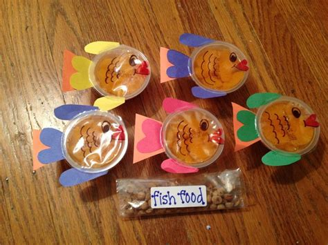 ideas kindergarten snacks ocean themed preschool snack food fun food pinterest