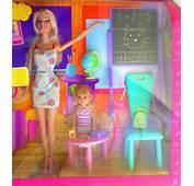 Barbie Y Kelly Set De Salon Clases Con Mobiliario