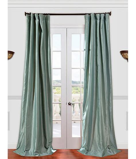 taffeta silk curtains robins egg faux silk taffeta curtains and drapes