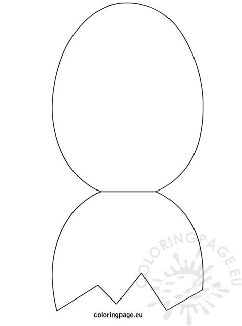 egg templates for cards easter egg foldable card template coloring page
