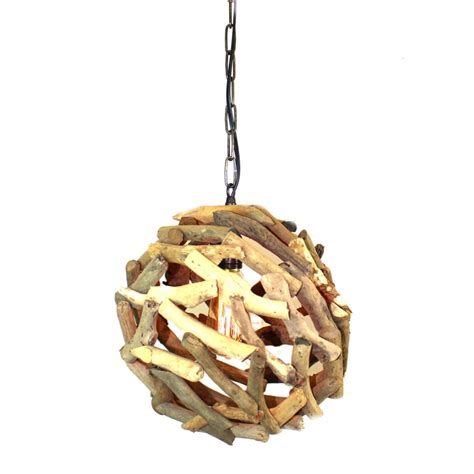 driftwood ls coastal lighting driftwood ball pendant chandelier ceiling mounted light