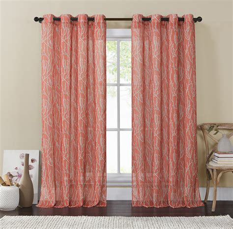 Coral And Grey Curtains Coral And Grey Curtains 28 Images 25 Best Ideas About Coral Shower Curtains On
