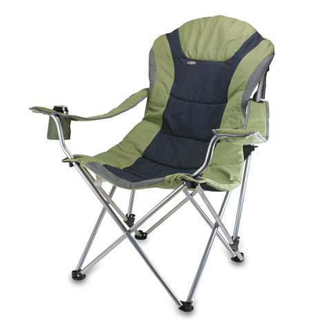 reclining lawn chairs com picnic time portable reclining c chair