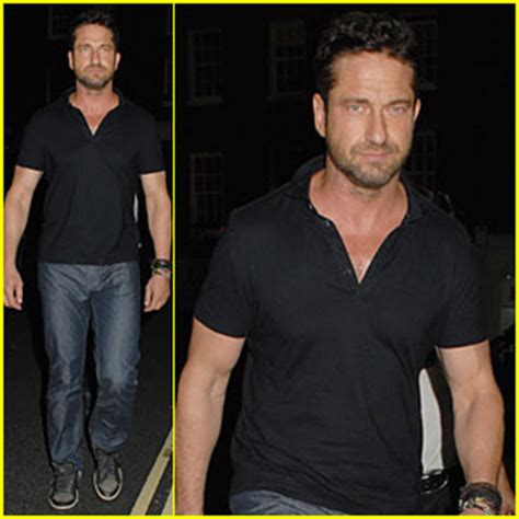 actor that looks like gerard butler gerard butler looks like a serious stud after hugo boss