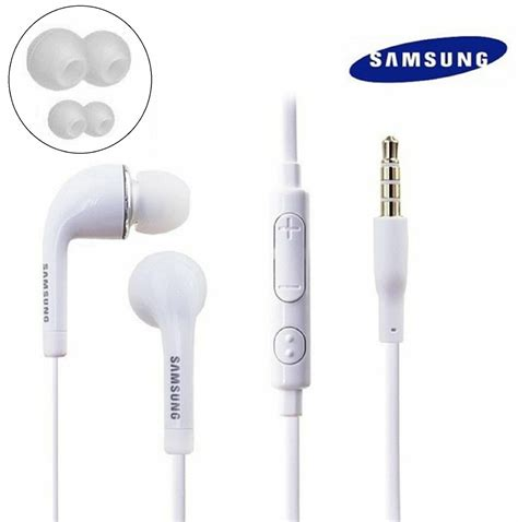 original samsung 3 5mm oem stereo headset earphones for galaxy s5 s4 s3 note 2 3 ebay