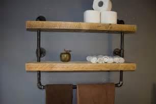 Bathroom industrial pipe shelf bathroom shelves kitchen