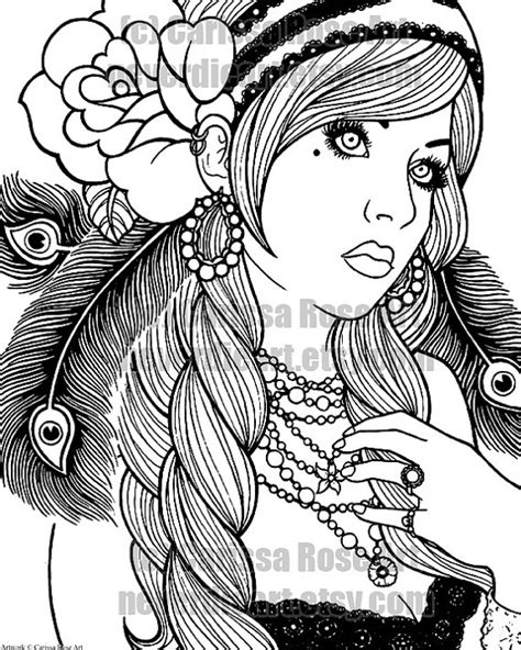 tattoo flash coloring pages digital download print your own coloring book by neverdieart