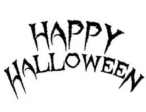 Halloween Letter Templates Happy Halloween Free Printable Coloring Pages
