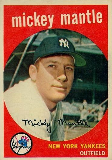 what makes a baseball card valuable 17 best images about mickey mantle baseball cards on