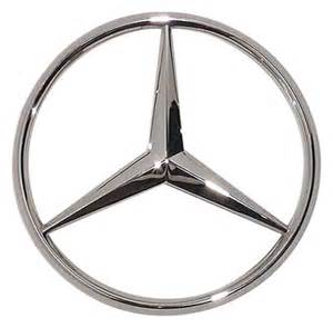 Mercedes Badge Emblems Exterior Accessory