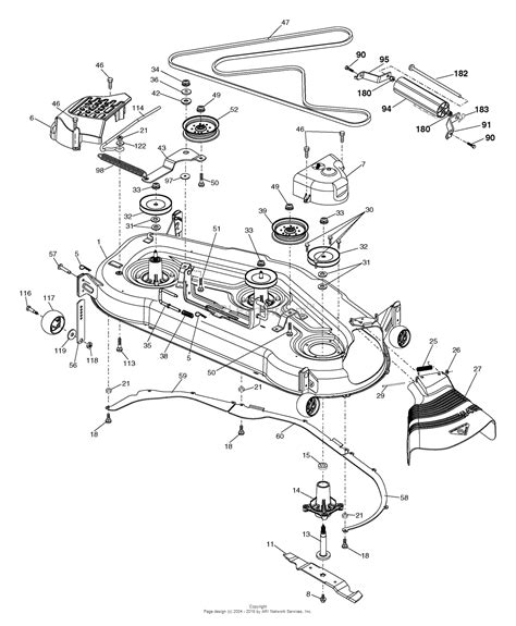 husqvarna mower parts diagram husqvarna gth 2654 96025000100 2005 06 parts diagram