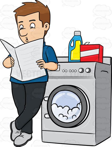 laundry clip detergent clipart by vector