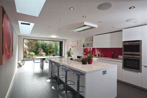 ideas for kitchen extensions kitchen design in a modern home http www adelto co uk stylish kitchen design in a