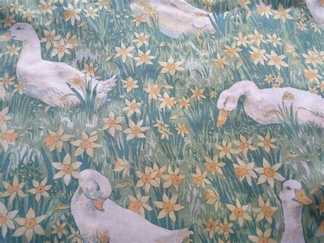 laura ashley vintage curtains laura ashley vintage curtains geese and daffodils view