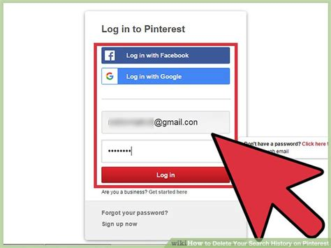 santos search and google on pinterest how to delete your search history on pinterest 10 steps