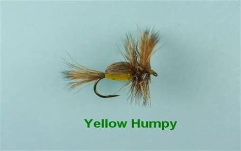 yellow humpy pattern yellow humpy fly flyfishing with fish4flies com