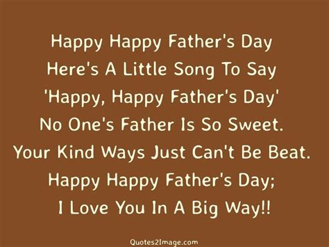 s day song quotes happy happy fathers day quotes 2 image