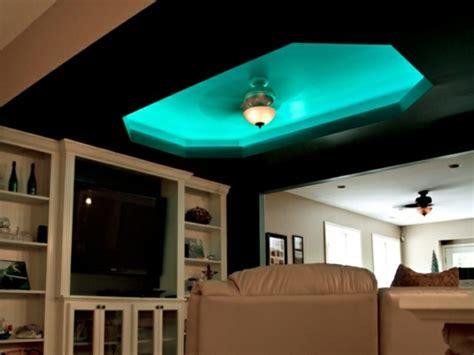 indirekte beleuchtung küche schlafzimmer kirschbaum wandfarbe