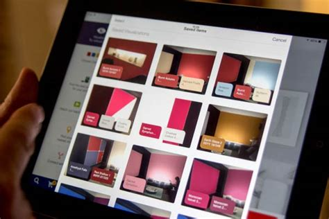 paint your walls virtually with dulux visualizer app without using paint testers