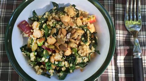 protein quinoa salad meatless monday protein power quinoa salad the hugger