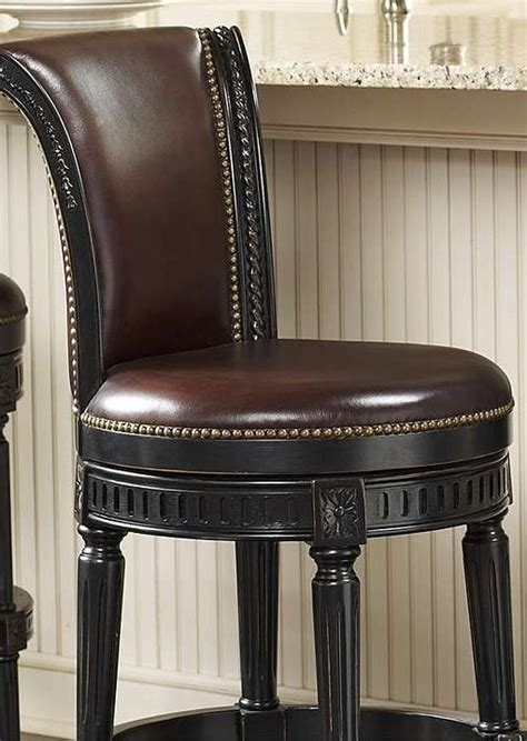 Manchester Faux Leather Swivel Bar Stools by Manchester Swivel Bar Stool What S Cooking