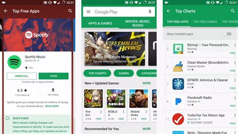 How To Put Gift Card On App Store - google play store design tweaks put app profiles on cards pocketnow